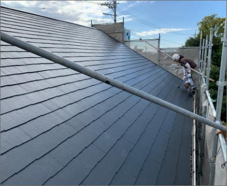 屋根塗装と外壁塗装