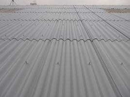 名古屋市天白区S様 倉庫スレート屋根遮熱塗装工事