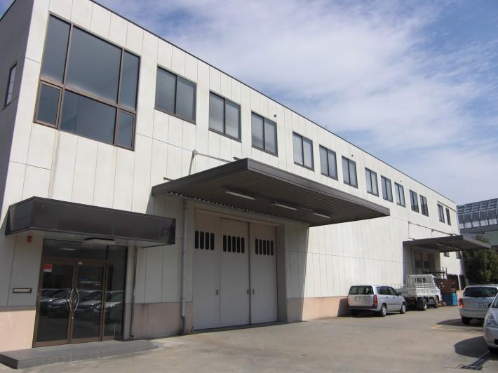 名古屋市名東区K様事務所  外壁・折版屋根塗装工事