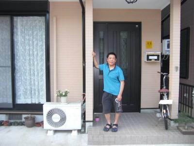 愛知県北名古屋市H様邸 外壁塗装工事