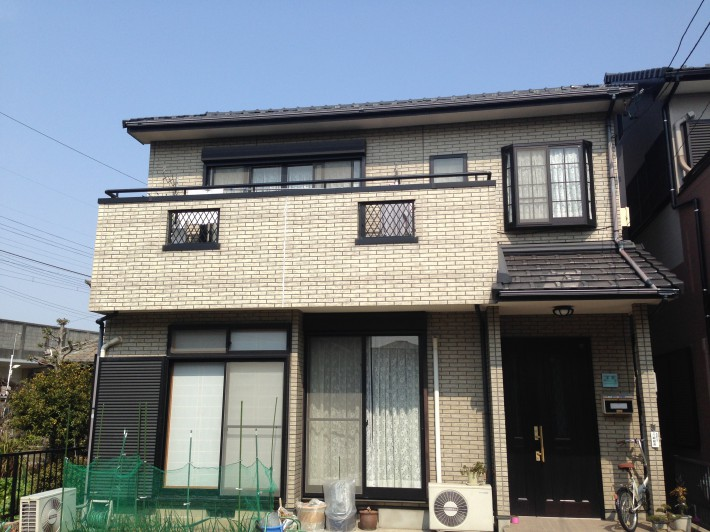 北名古屋市 H様邸 外壁塗装工事