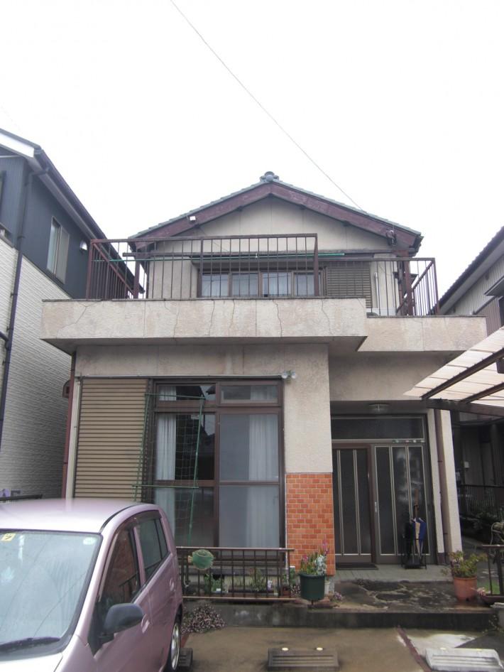 春日井市T様邸 外壁塗装・防水工事