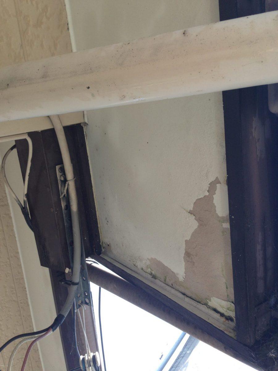 雨漏り・養生 大府市外壁塗装工事