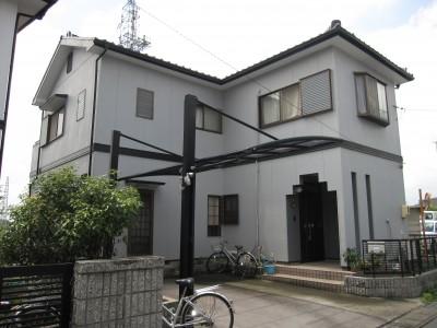 愛知県小牧市S様邸   外壁塗装工事