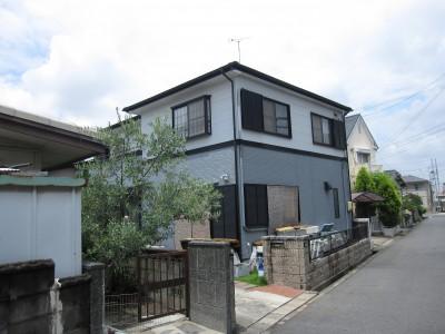 愛知県瀬戸市H様邸   外壁・屋根塗装工事