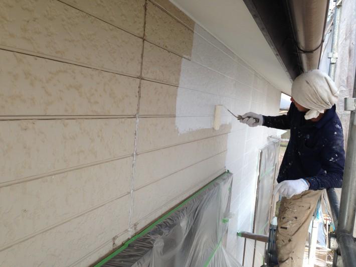 【外壁】 下塗り 水性ソフトサーフSG