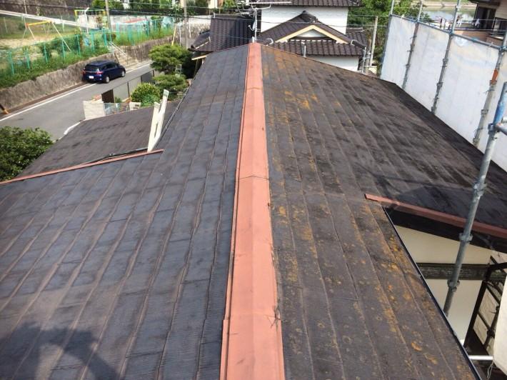 愛知県東海市K様邸     カラーベスト屋根塗装