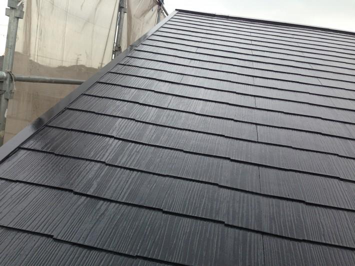 【カラーベスト屋根】 完了
