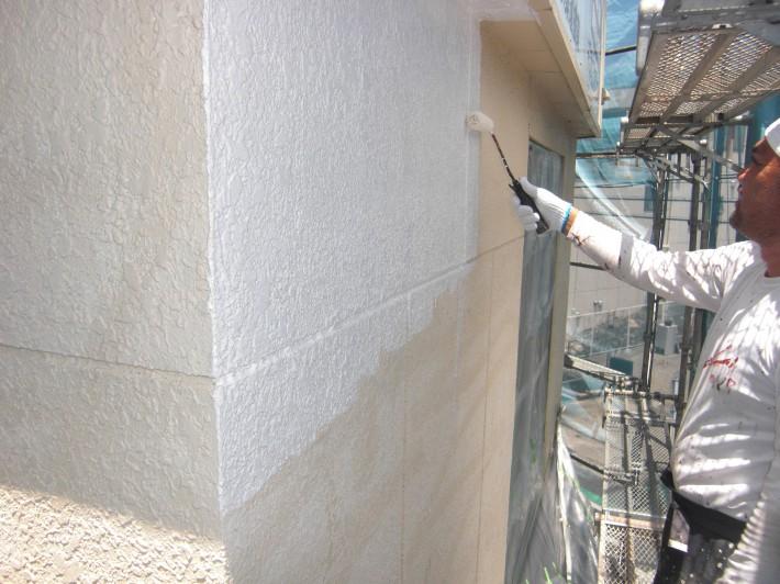 【外壁】下地処理前下塗り