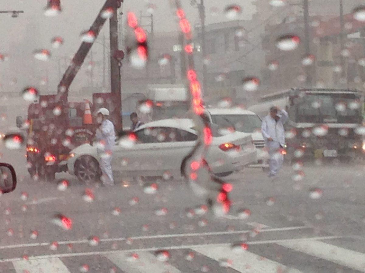 ゲリラ豪雨 春日井市・扶桑町
