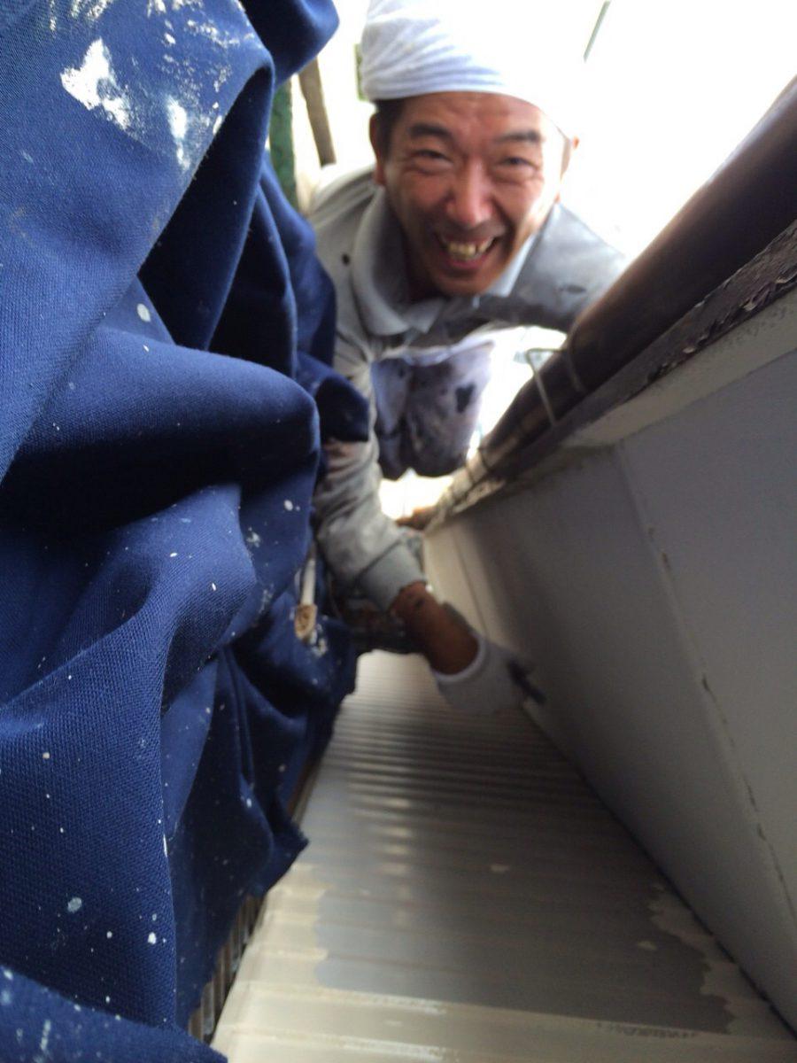 日曜日出勤 北名古屋市 外壁・屋根塗装