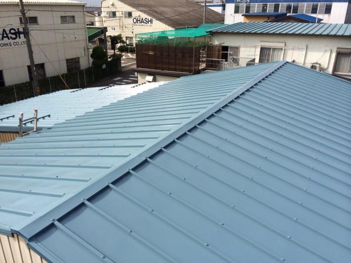 愛知県北名古屋市 T社様倉庫 屋根塗装工事