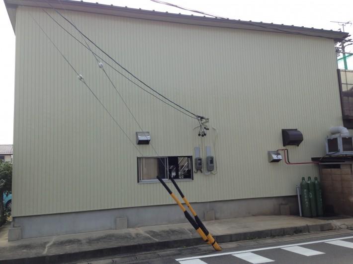 愛知県北名古屋市 I様邸兼工場 外壁塗装