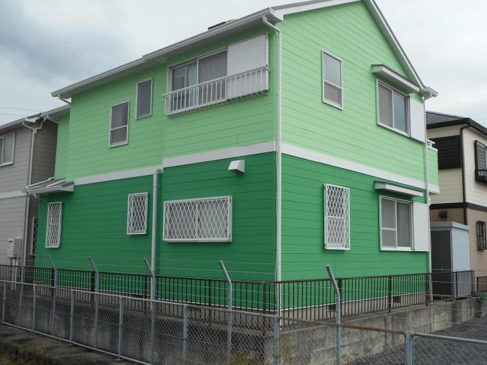 春日井市大手町 K様邸 外壁・屋根塗装工事