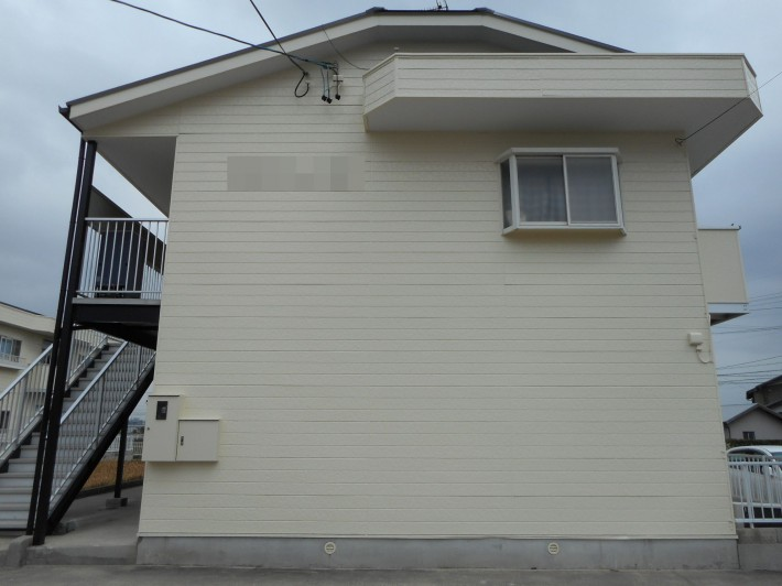 愛知県知立市 アパート2棟 屋根・外壁塗装工事