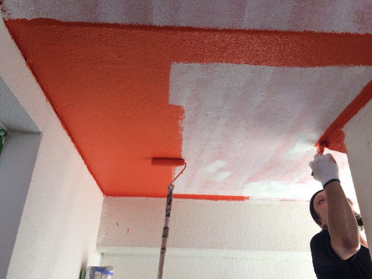 ようやくアパート2棟外壁2色屋根塗装完了しました。