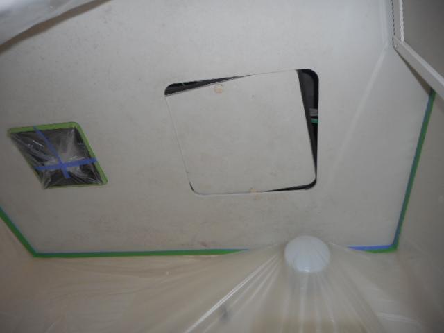 天井カビ除去完了