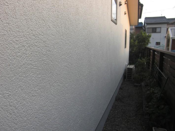 外壁施工後