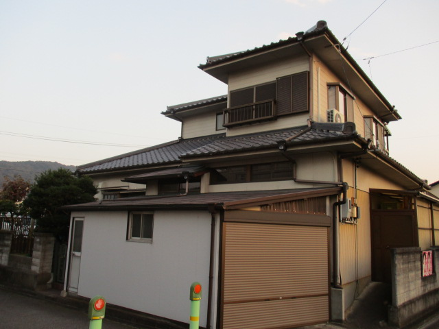 春日井市高蔵寺町 I様邸 外壁塗装・ナミイタ交換工事