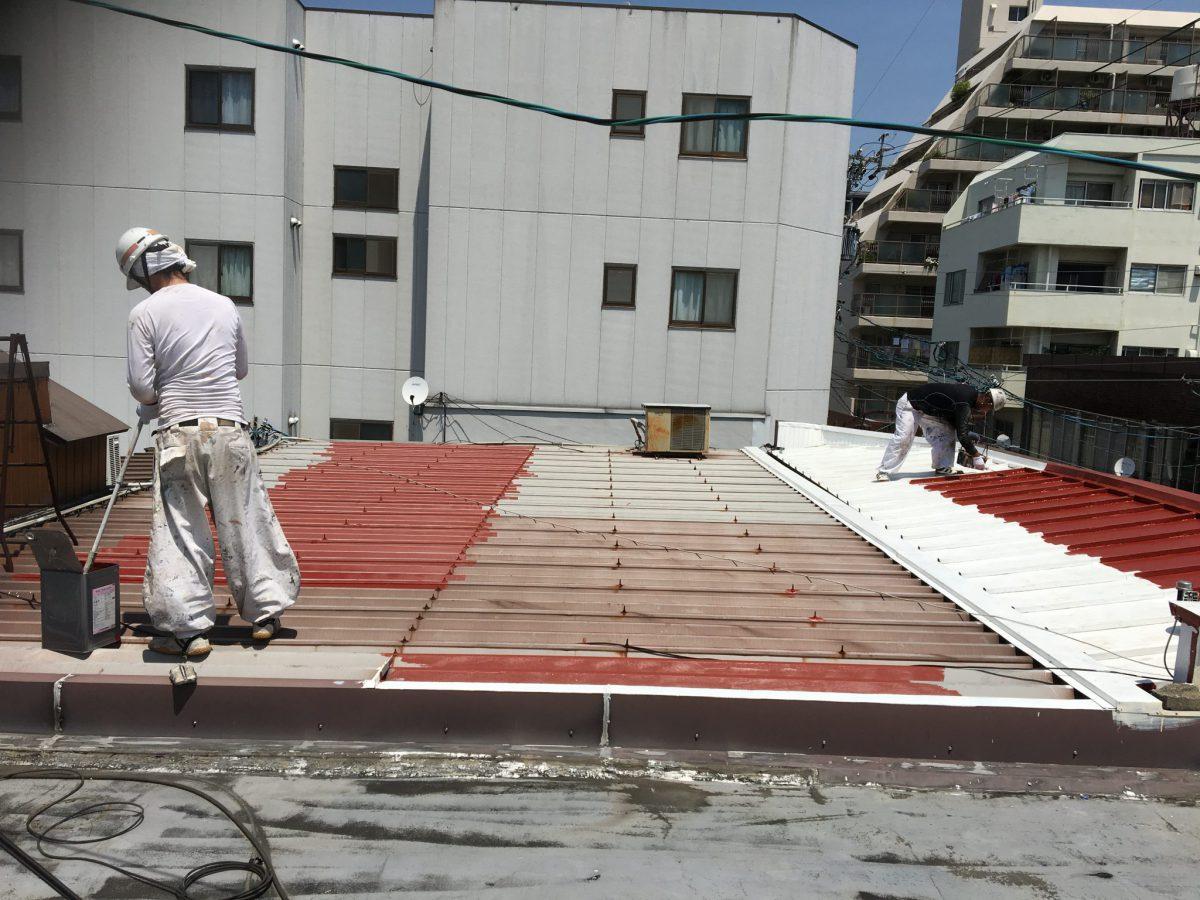 小さな工事・屋根のみ塗装