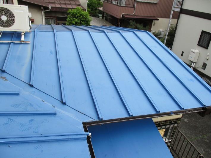 春日井市柏井町 A様邸 瓦棒屋根塗装工事