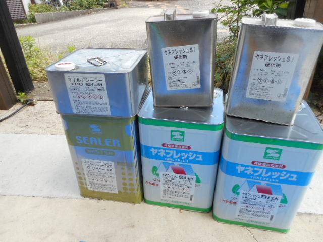 マイルドシーラーEPO1缶 ヤネフレッシュSi2缶(SR102)チェスナットブラウン