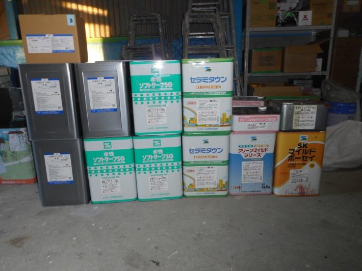 水性ソフトサーフSG3缶 セミフロンスーパーアクアⅡ(SR111)3set セラミタウンマイルド1缶(N-87) SKマイルドボーセイ1set(赤錆) クリーンマイルドシリコン1set(255)
