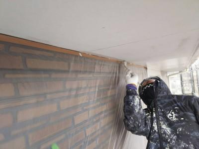 冬の時期の塗装工事