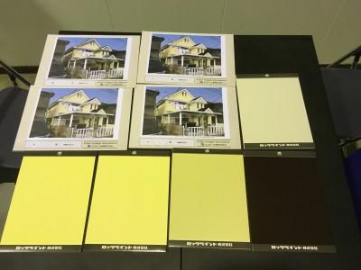 外壁塗装のカラーシュミレーションについて