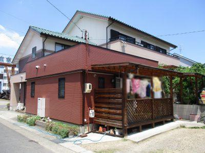 築20年で初めての塗装工事です。今回の材料は私が所属する団体【日本塗り替え研究会】とメーカーが共...
