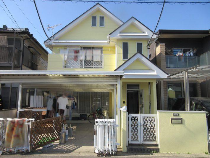 春日井市上田楽町 K様邸 外壁塗装・屋根塗装工事
