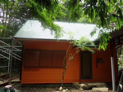 2週間ほど前にご自宅の塗り替えを完工した、H様から瑞浪市にある別荘の塗り替えを追加注文頂きました。...