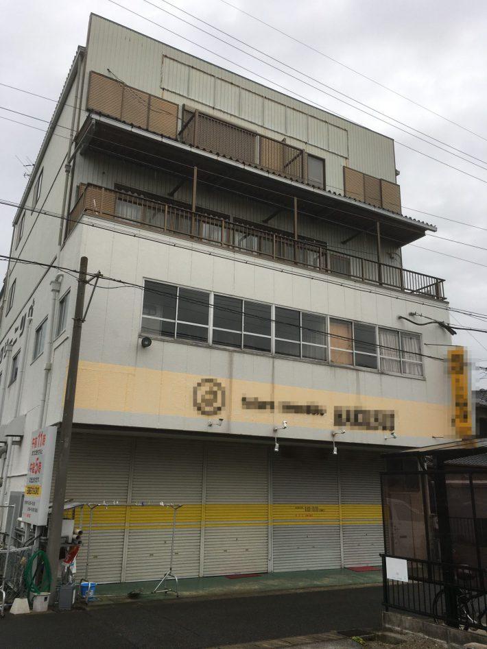 江南市 O様店舗兼住宅 外壁・屋根塗装工事