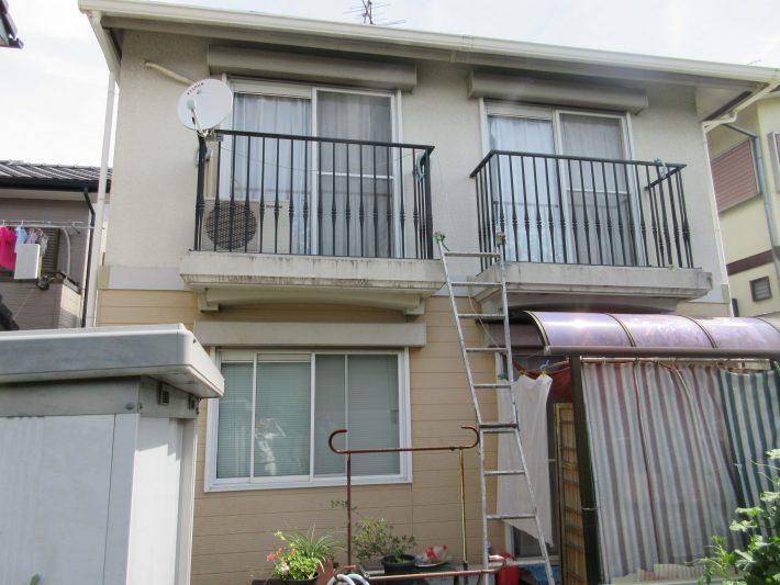 春日井市岩成台 T様邸 外壁塗装工事
