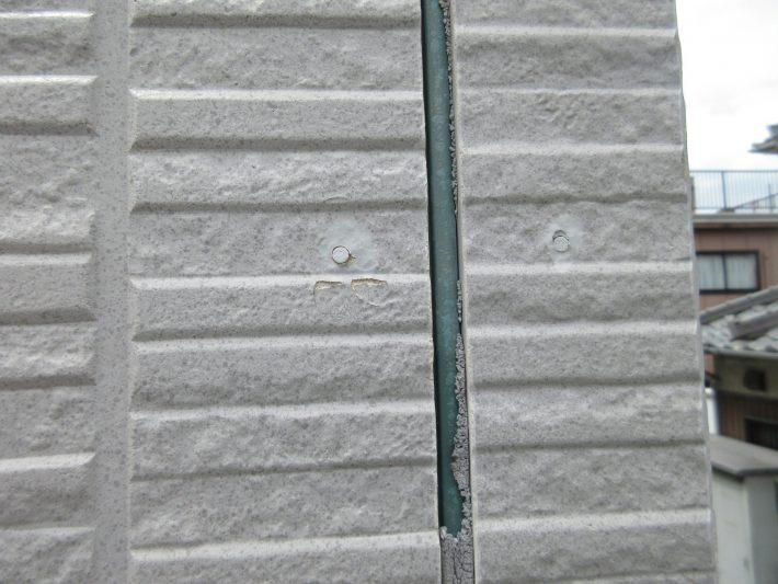 施工前 外壁目地 シーリング破断
