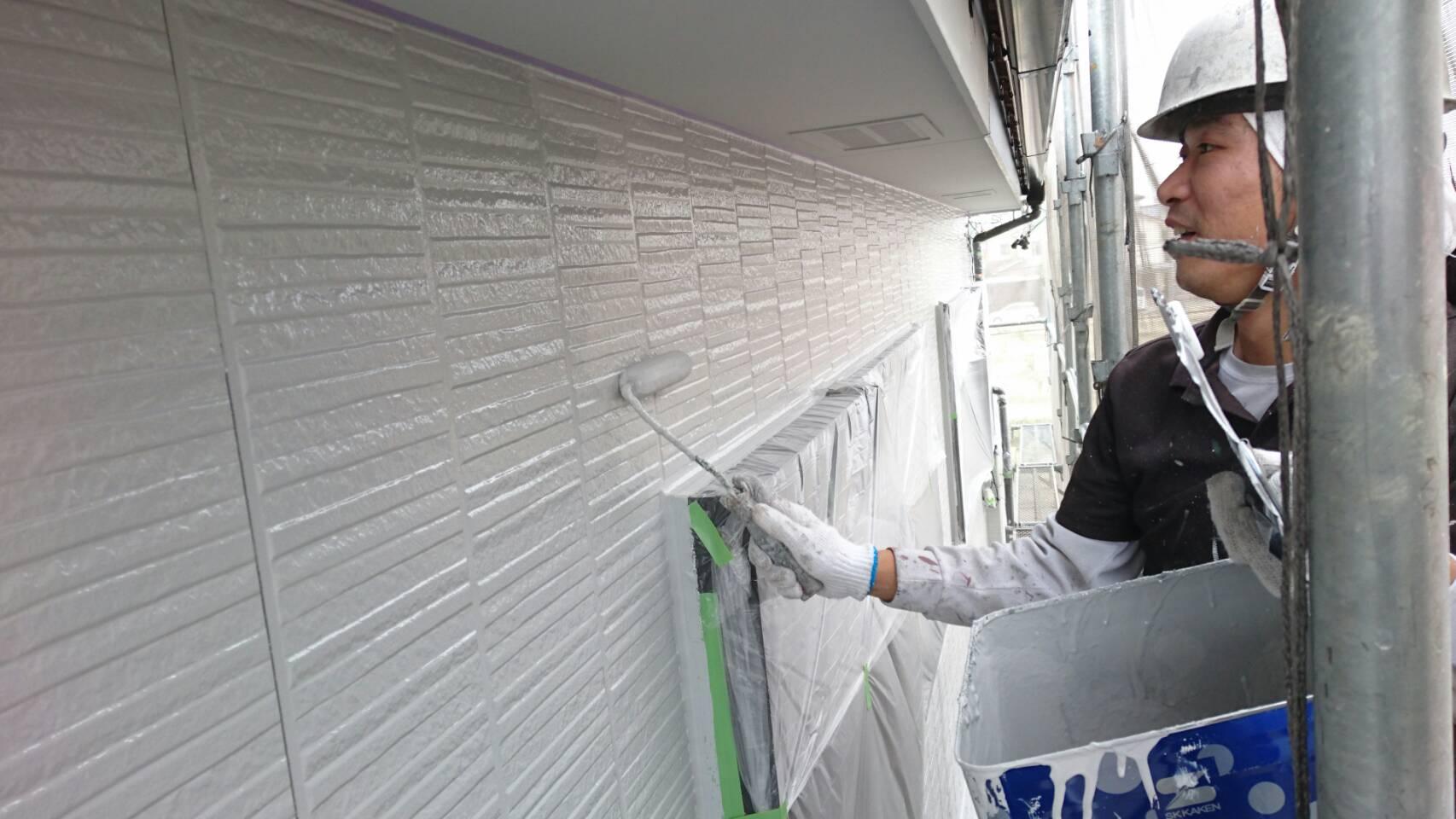 春日井市大手町N様邸 フッ素樹脂塗装完了です。