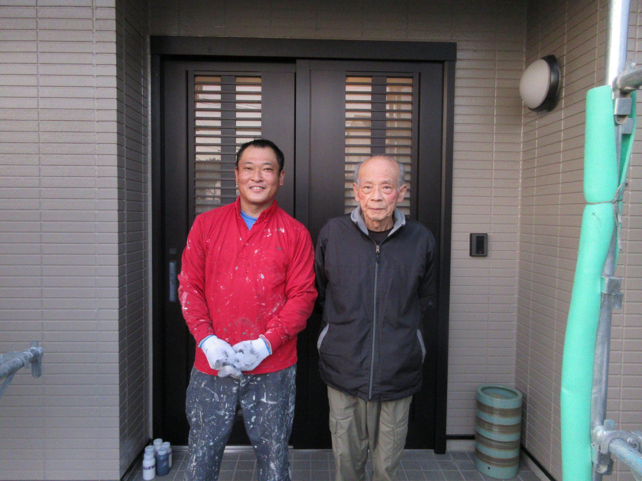 春日井市上田楽町 外壁塗装・シロアリ予防工事完了です(^^♪
