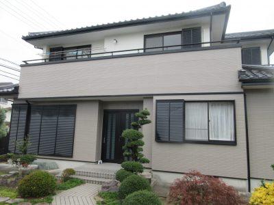 春日井市上田楽町I様邸 外壁無機塗装ご紹介です。築20年で2回目の塗り替えになります。外壁が色褪せて...
