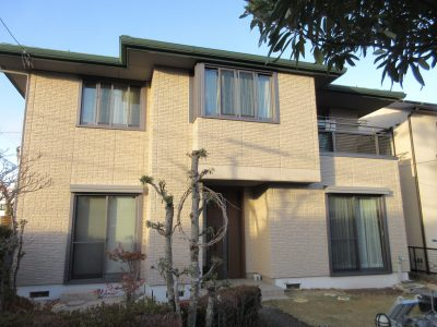 春日井市押沢台 F様邸のご紹介です。築15年で初めての塗り替えになります。建築関係のお仕事をされてお...
