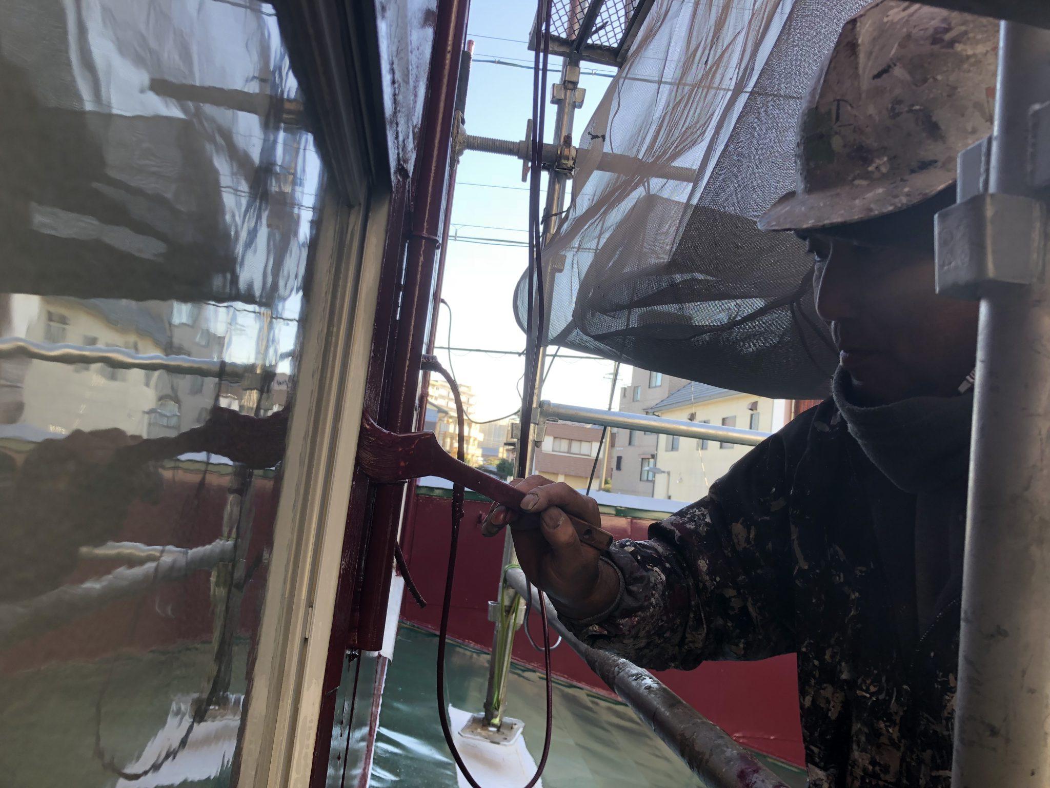 春日井市 塗装職人歴30年竜太の兄貴の外壁塗装動画