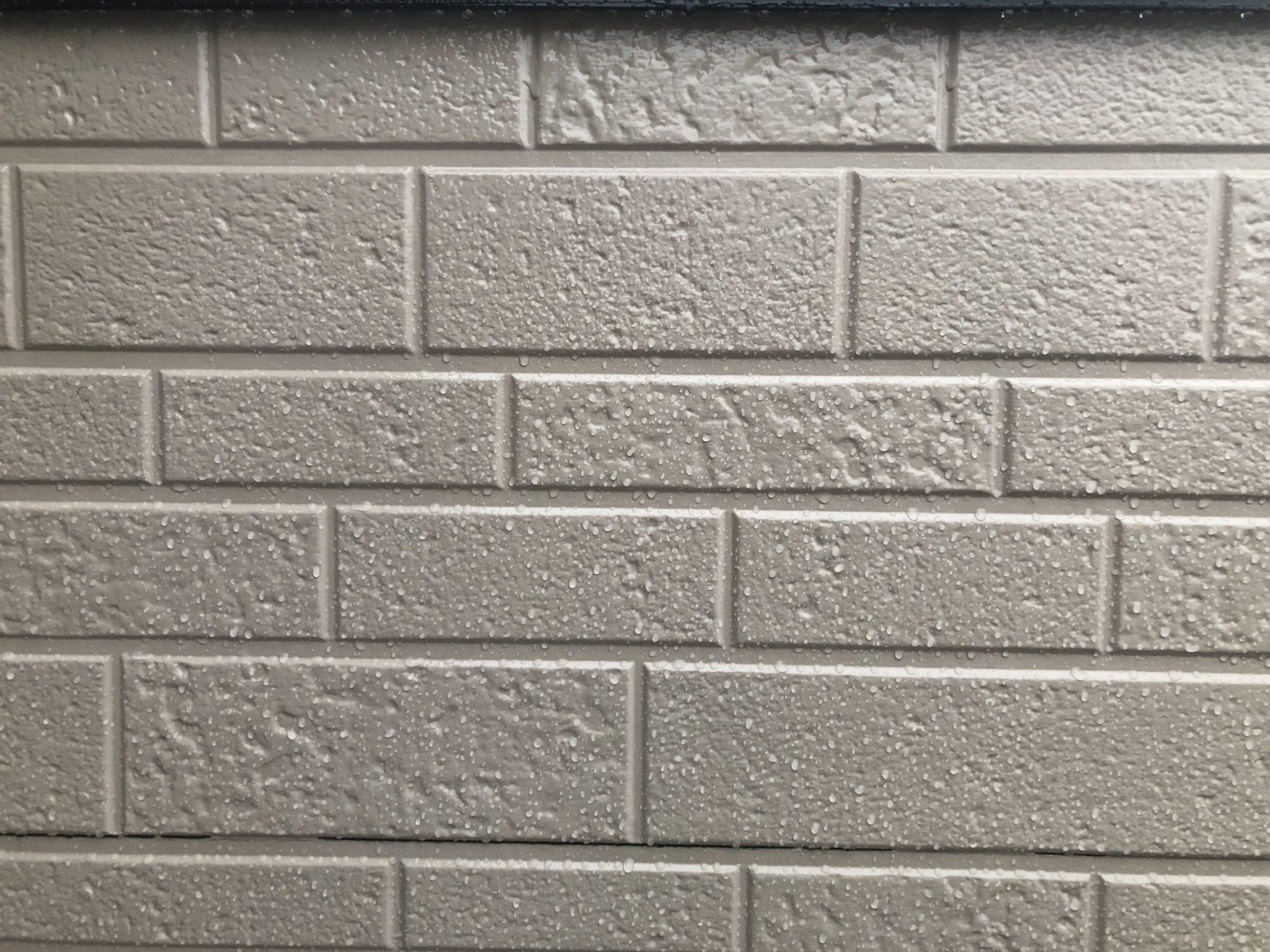 春日井市新開町 外壁フッ素塗り替え完了