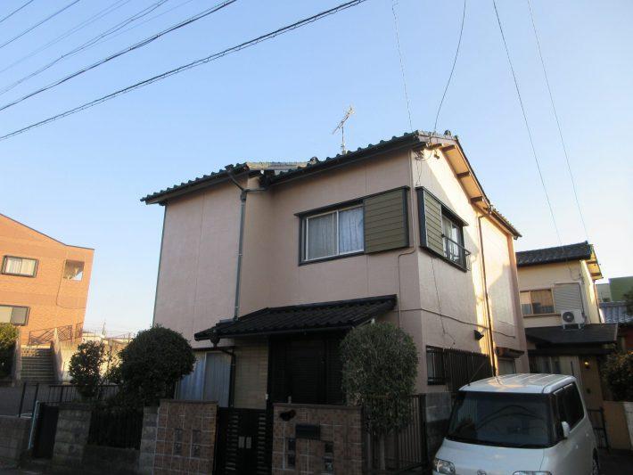 春日井市大手町 H様邸 外壁・屋根塗装・漆喰工事