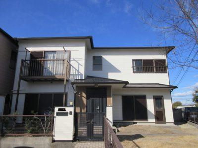 春日井市前並町W様邸の外壁・屋根塗装のご紹介です。築23年で初めての塗り替えです。事務所から徒歩圏...
