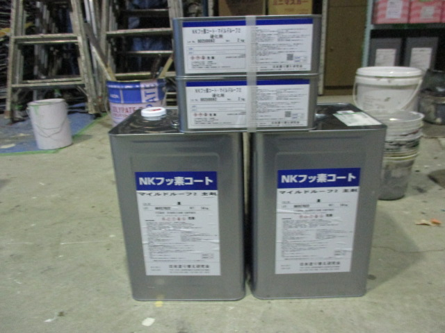 NKフッ素コートマイルドルーフ2 2セット(ブラック)
