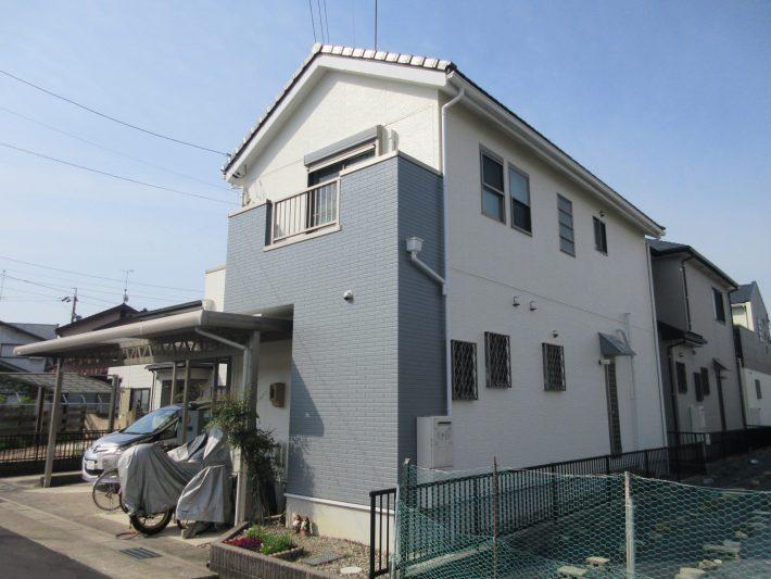 春日井市稲口町 K様邸 外壁塗装・屋根カバー工法