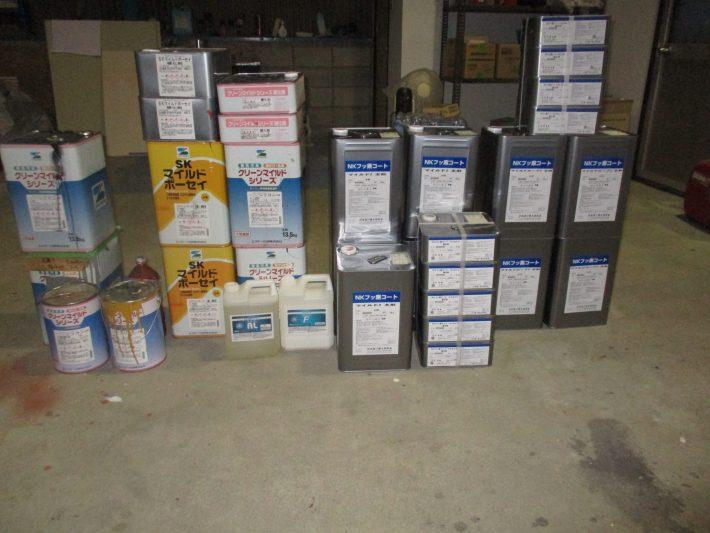 マイルドボーセイ 2缶  NKフッ素コートマイルドルーフ2 4set(N-75) NKフッ素コートマイルド2 5set(N-80) クリーンマイルドシリコン 1set(255) アレスリフレAL アレスリフレF