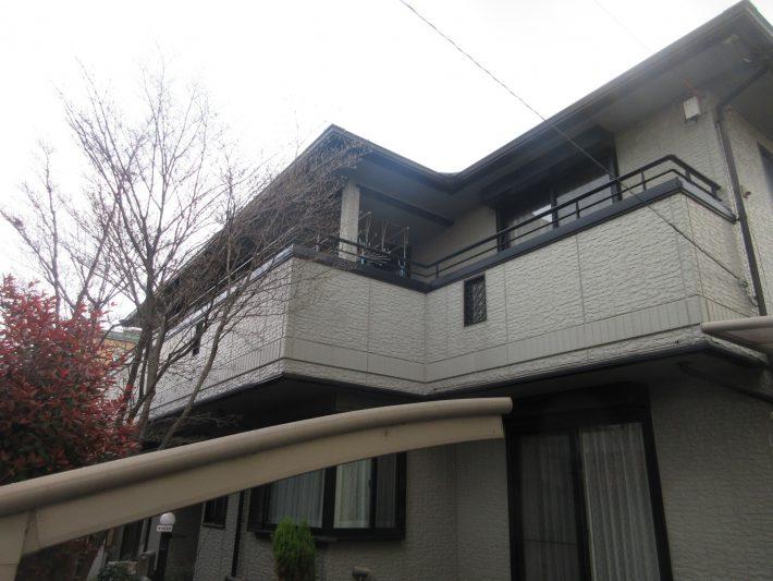 春日井市前並町 N様邸 外壁・屋根塗装・ベランダ防水工事