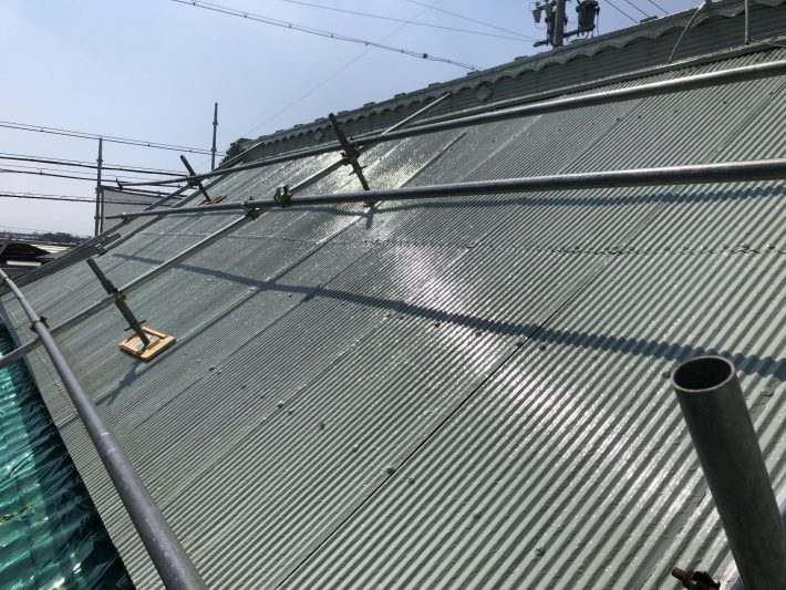 小牧市 K様邸 屋根塗装工事