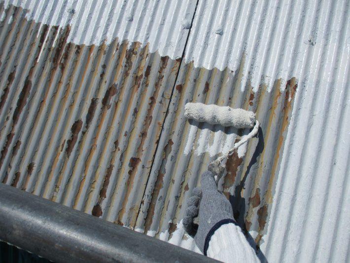 錆止め 密着性を良くし、金属の腐食を防ぐ効果があります。