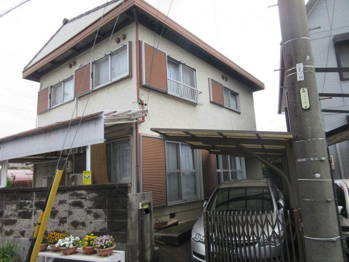 春日井市知多町 H様邸 外壁・屋根塗装工事